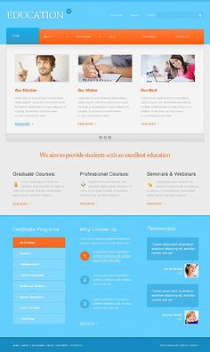 Education University WordPress Themes by Astra