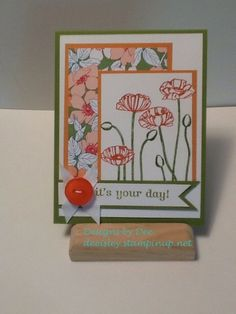 Its Your Day Designs By Dee Isley Deeisleystampinup Flipflops Deeyahoo Custom Designed Birthday Cards