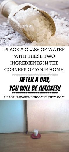 Negative energy is seen as the main cause of many health problems. Here's a natural filter! salt, c distilled white vinegar, c water Herbal Remedies, Health Remedies, Home Remedies, Health And Beauty, Health And Wellness, Health Fitness, Natural Cures, Natural Healing, Get Healthy