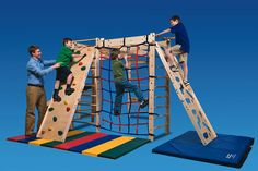 In-FUN-ity Climbing System Indoor play you can customize by Southpaw