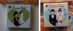 Wedding mini cards Set of 20 por Tianguisonline en Etsy