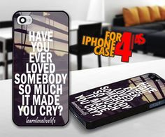 cute love quotes for iphone 4 / 4s case | iPhoneCustomCase - Accessories on ArtFire