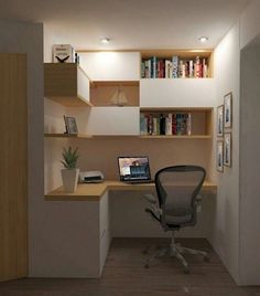 Small Home Offices, Home Office Space, Home Office Desks, Desk Space, Kitchen Office Nook, Modern Home Offices, Home Office Table, Small Space Office, Study Space