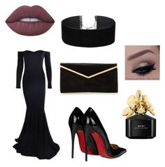 """Elegant"" by toriwright70 on Polyvore featuring Christian Louboutin, Marc Jacobs, Lime Crime and Miss Selfridge"