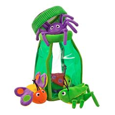 Melissa & Doug Deluxe Bug Jug Fill and Spill Soft Baby Toy,