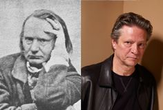 Victor Hugo - Chris Cooper (Images of Victor Hugo and Chris Cooper provided by Getty Images)