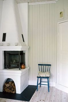 Another little corner fireplace