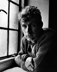 John Berger c1962, the year he moved to France.