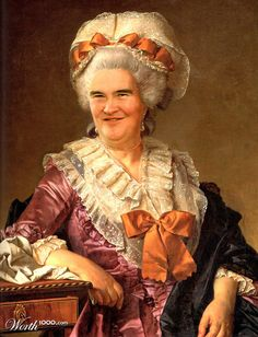 Celebrities in Classic Paintings - Susan Boyle