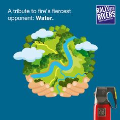 At Ceasefire, we know the importance of water. It's the world's first firefighter, and like Ceasefire, it saves thousands of lives every year.   Join the nationwide initiative 'Rally for rivers', backed by our arsenal of advanced Watermist, Foammist and water-based extinguishers & suppression systems.   Give a missed call on 80009 80009 to support the cause. #RallyForRivers