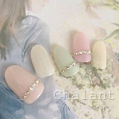 """68 Likes, 1 Comments - nailsalon Chalant (@chalant_nail) on Instagram: """"✳︎3月のキャンペーンデザイン✳︎ ・ ・ 【ご予約・お問い合わせ】 0422-27-6367 http://www.chalant-nail.com…"""""""