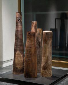 "ARTS&SCIENCE official account on Instagram: ""・ ・ Ernst Gamperl ""3rd Exhibition""   Photo Report ・ AT THE CORNERと& SHOP Kyotoにて開催中の<Ernst Gamperl 3rd…"" Photo Report, Ceramic Pots, Modern Sculpture, Science Art, Wood Art, Official Account, Behance, Ceramics, Artwork"