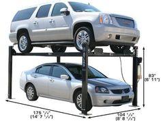 XH-PRO8000-32 Garage Hoist, Garage Car Lift, Car Hoist, Garage Tools, Garage Shop, 4 Post Car Lift, Four Post Lift, Automotive Shops, Restoration Shop