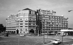 Camelot Hotel, Tulsa Oklahoma Used to be really fancy, right on I-44. Bulldozed, now a QuickTrip store. (This was in the 70's, one of my sneak in pics)
