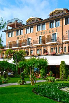 The luxurious Hotel Cipriani, Venice, Italy