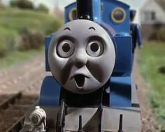 Thomas The Tank Engine - old school, with models and not CG animation, and  voiced-over by Ringo. Just the way I like it!