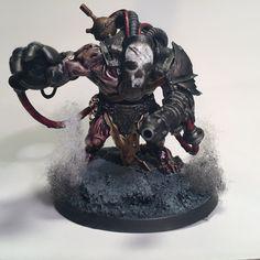 Dark Mechanicus mutant servitor by VinTheHuman. Inq28, Inquisimunda
