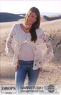 Receitas de Crochet: Poncho