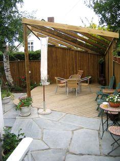 Galleri - Velholdt Park og Hage AS Pergola, Outdoor Structures, Patio, Balcony, Garden, Outdoor Decor, Flowers, Home Decor, Cloakroom Basin