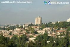 Jerusalem's scenic and tranquil neighborhood Yemin Moshe, right outside of the Old City walls!