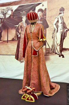 Empire Ottoman, Hijab Style Dress, Folk Clothing, Couture Sewing, Hijab Fashion, Ethnic, Princess Zelda, Satin, Culture