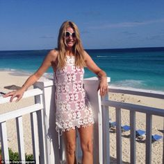 Back online: Tess, 46, broke her month-long Instagram silence as she shared a cheery updat...