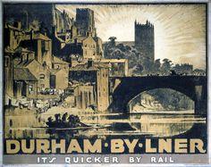 Durham - Frank Brangwyn - 1930s