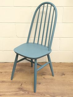 Quaker Chair painted with Pure & Original Classico Chalk Paint in Atria