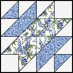 Taft's Choice quilt block--Quilts To Be Stitched - Four patch quilt patterns Half Square Triangle Quilts Pattern, Quilt Square Patterns, Machine Quilting Patterns, Quilt Block Patterns, Square Quilt, Pattern Blocks, Texas Quilt, Star Quilt Blocks, Block Quilt