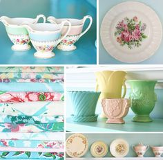 Meadowbrook Farm: McCoy pottery and other vintage pretties
