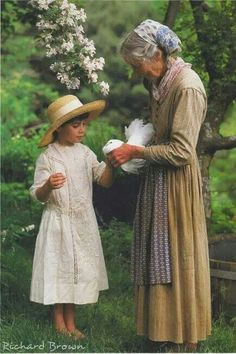 Amazing Tasha Tudor, illustrator, author, gardener and proponent of the simple but magical life.