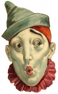 Vintage Visions: Vintage Clowns