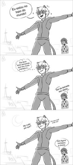 Miraculous Ladybug   coitado do Chat .-.