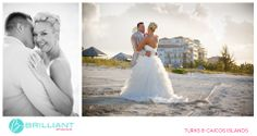 A stunning Seven Stars wedding in the Turks and Caicos with Brilliant Studios