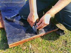 przymocowujemy folię na zszywki Butcher Block Cutting Board, Garden, Home, Decor, Compost, Garten, Decoration, Lawn And Garden, Ad Home