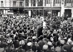 1923 Plaza de Cascorro. Proclamación de la dictadura de Miguel Primo de Rivera.