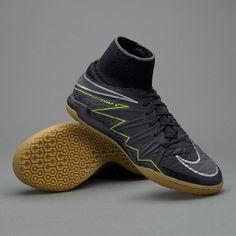 Nike Kids HypervenomX Proximo IC - Black/Volt