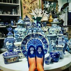 Stubbs and Wootton..Blue & White Chinoiserie