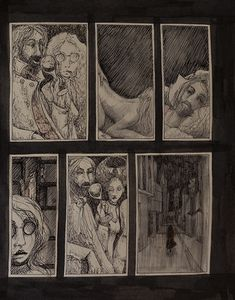 Home - Exclusive comics - Arkanum graphic novel serial by Kiki Klimt Valley Of Death, Greatest Mysteries, Love Truths, Renaissance Paintings, Everlasting Life, The Secret Book, Black Books, Eternal Love, Love Painting