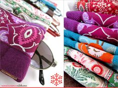 Snap Frame Eyeglass Cases with Renaissance Ribbons | Sew4Home