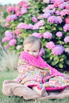 diy: Blanket… So Easy Even A Baby Could Make It! | thepintopony