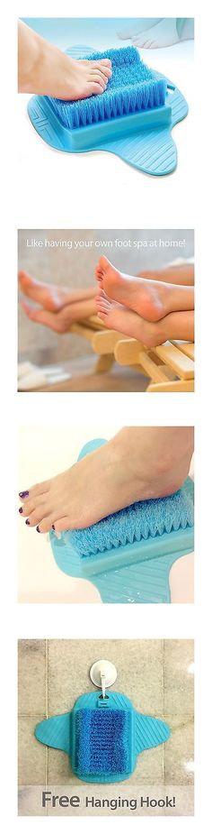 Bath Brushes and Sponges: Bath Blossom Foot Scrub Brush Exfoliating Feet Scrubber Washer Spa For Shower -> BUY IT NOW ONLY: $30.77 on eBay!