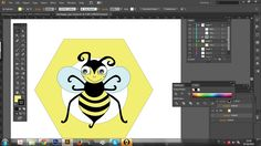 #workinprogress #logo #bee #happy #behappy #honey giadagabiati.com