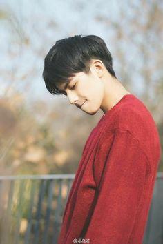 Korean Boys Ulzzang, Cute Korean Boys, Cute Boys, Korean Haircut Long, Korean Men Hairstyle, Medium Hair Cuts, Long Hair Cuts, Two Block Haircut, Song Wei Long