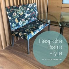 Spring is here and Balkonia & Co is calling us!🌿🌼🌾🐝☀️ Our new Bistro style furniture can be custom made to size and upholstered in any fabric of your choice, just like these two fabulously blooming pieces from a recent Villa Projekt of ours World Of Interiors, Interior Decorating, Interior Design, Spring Is Here, Luxury Living, Showroom, Switzerland, Accent Chairs, Villa