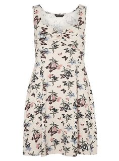 Butterfly Twist Front Dress