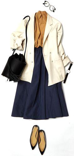 今週のレッスン:春のスカートスタイルに挑戦(ルミネエスト新宿) | LUMINE MAGAZINE