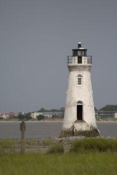 Cockspur Lighthouse in Savannah