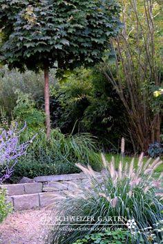 Ein Schweizer Garten Der Garten im September