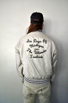 Vintage 80s Grey Coaches Jacket - Medium // Large